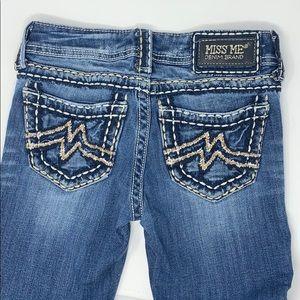 Miss me sunny skinny jeans 25